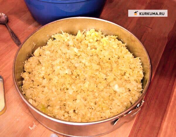 Выпечка без яиц - капустный пирог