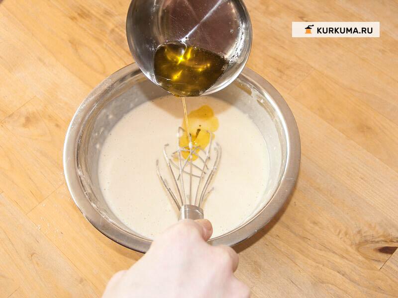 выпечка без яиц - Блинчики на сывортке с начинкой