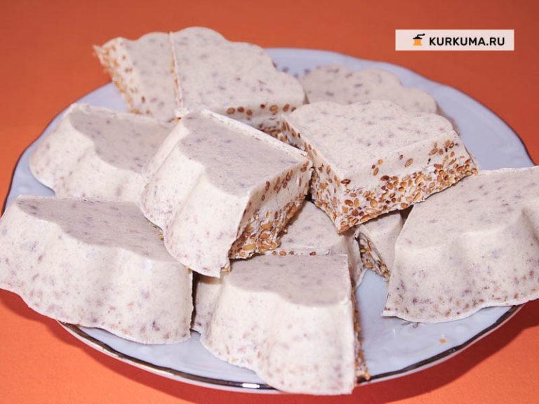 Индийская сладость бурфи пошаговые