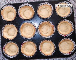 Тарталетки (корзиночки со сладкой и соленой начинкой) - Вегетарианские рецепты