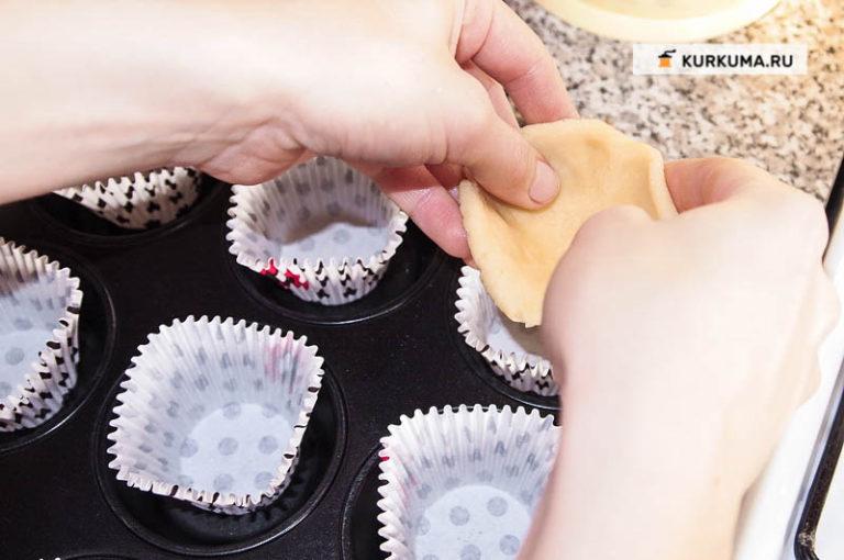 Как сделать тарталетку из теста без формочки 842
