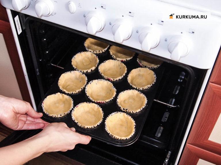 Корзинки со сладкой начинкой рецепты