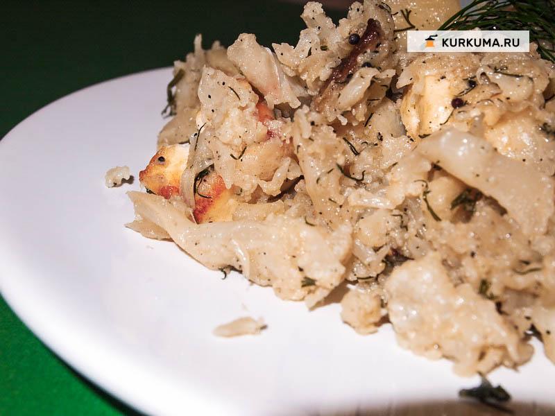 Сабджи из картошки и цветной капусты