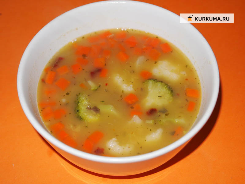 Дал таркари, или суп из дала