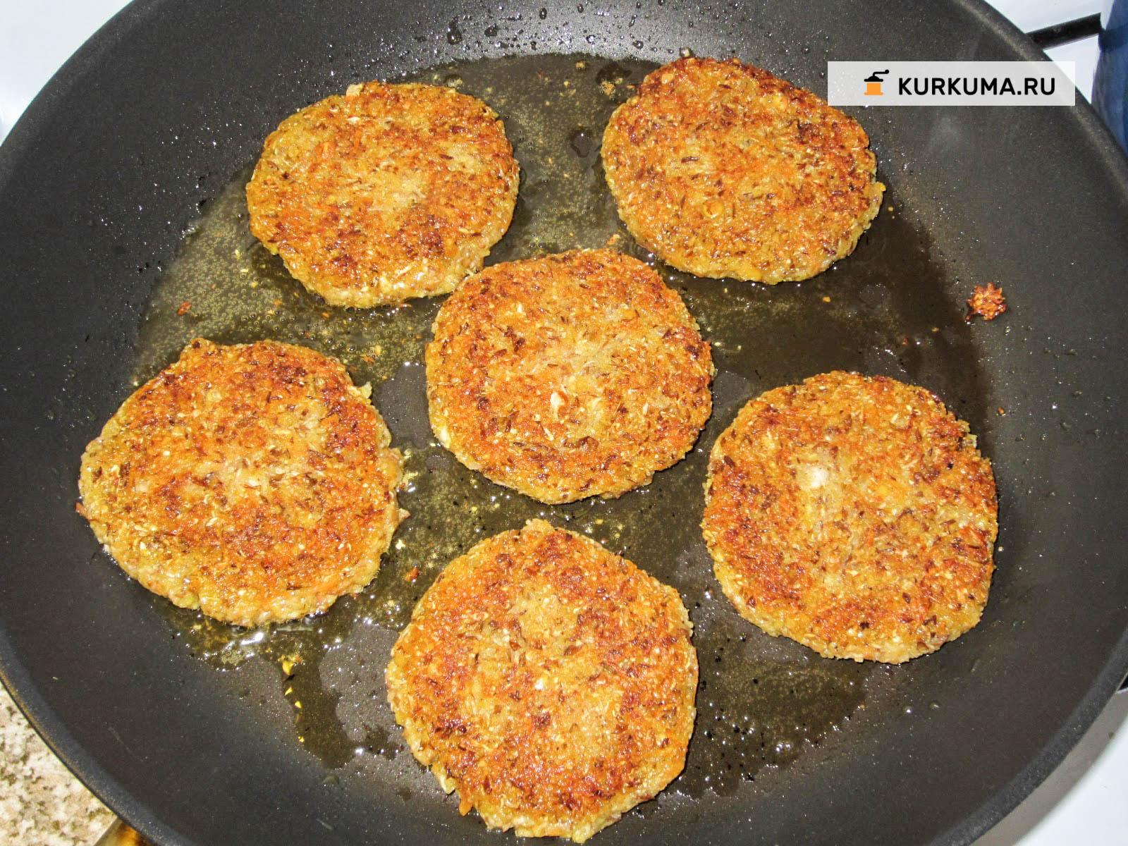Чечевичные котлеты рецепт пошагово