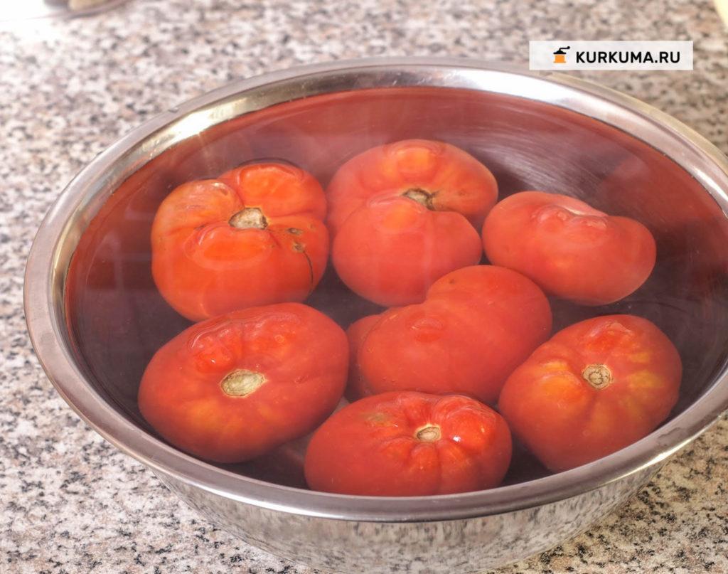 Легкий томатный суп