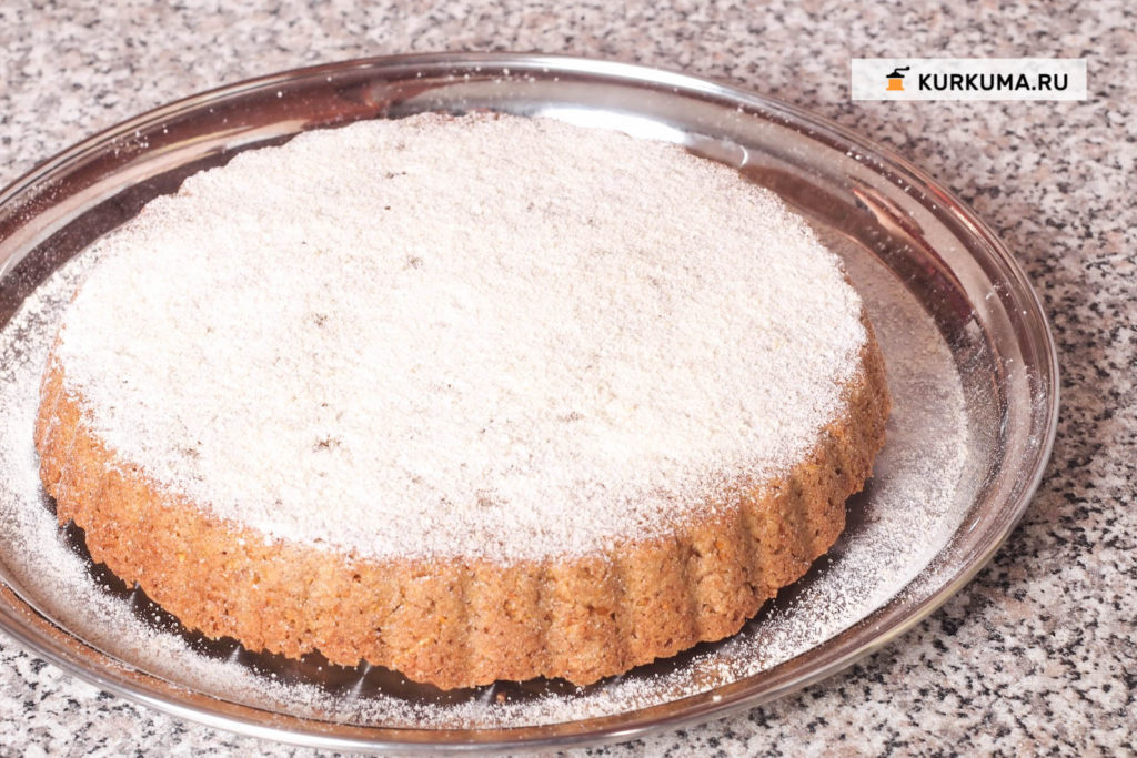 Морковный пирог (или морковный кекс)