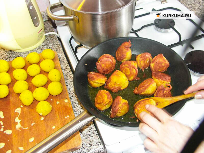 Вегетаринские рецепты - Хрустящий картофель