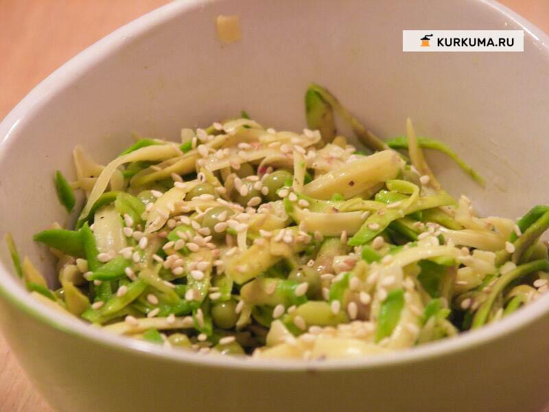 Вегетарианские рецепты - салат с авокадо