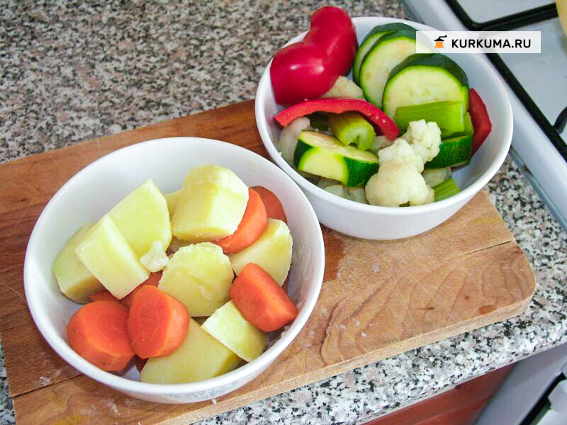 Вегетаринские рецепты - пакоры