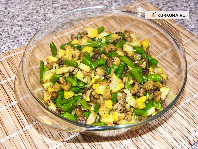 Самосы (пирожки с овощами)