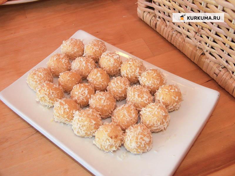 Вегетарианские рецепты - Домашние конфеты (или просто бурфи)