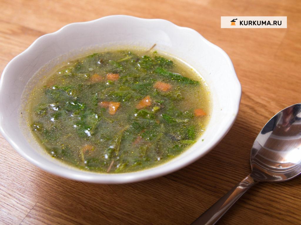 Суп из крапивы