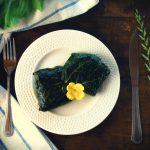 Овощные конвертики с тофу