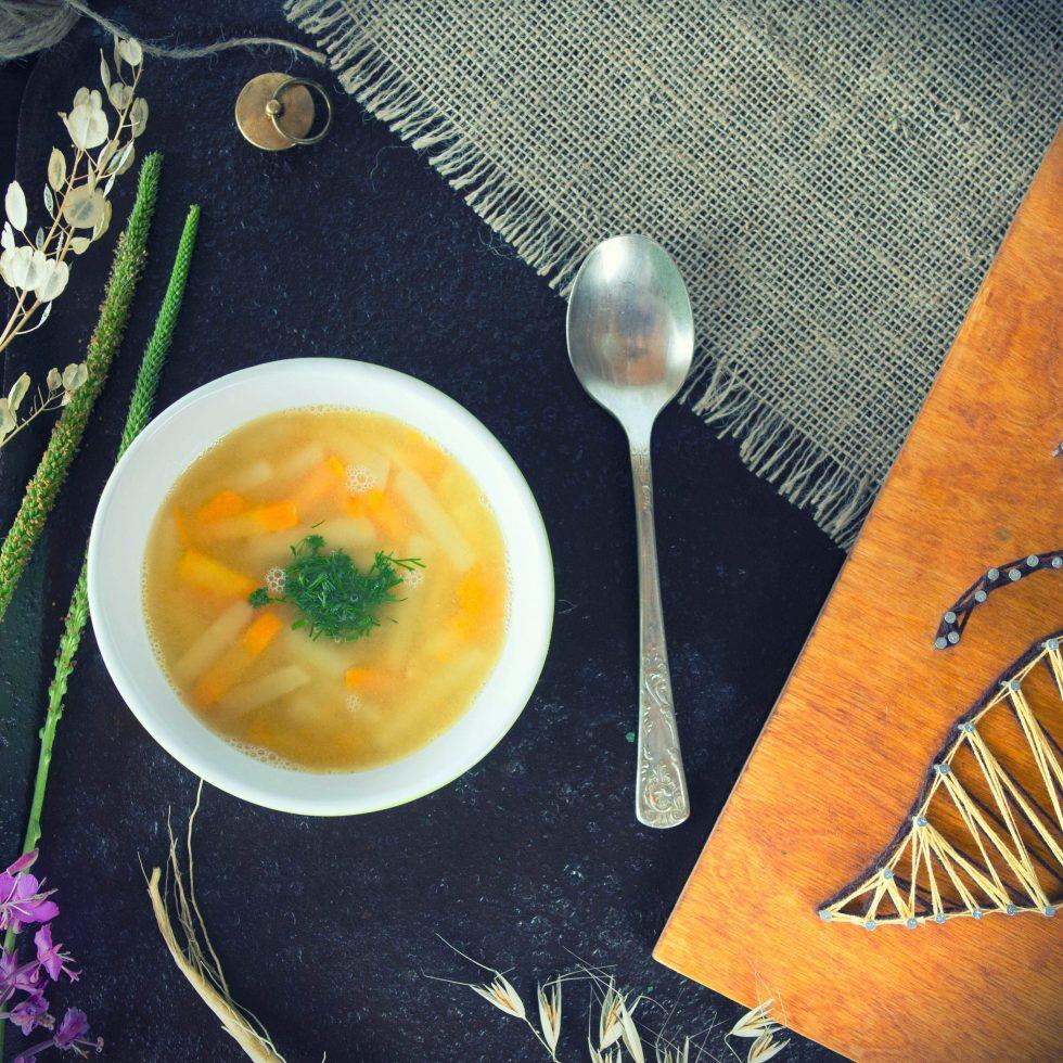 Гороховый суп с репой - рецепт с фото