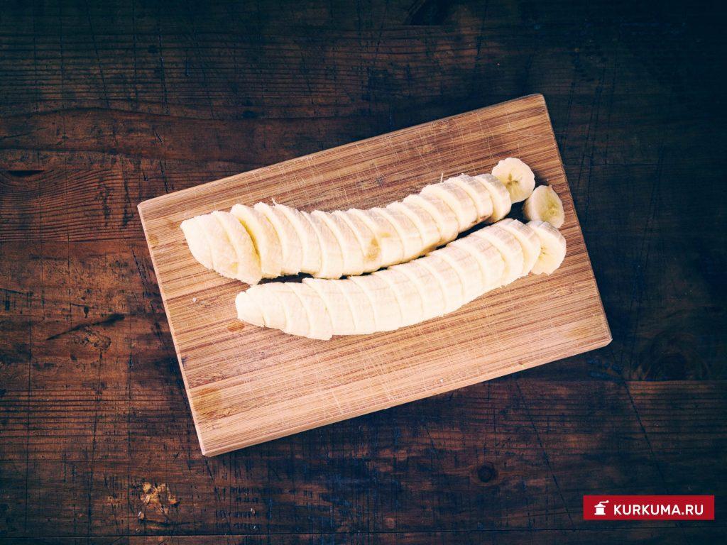 Варенье из ревеня и бананов