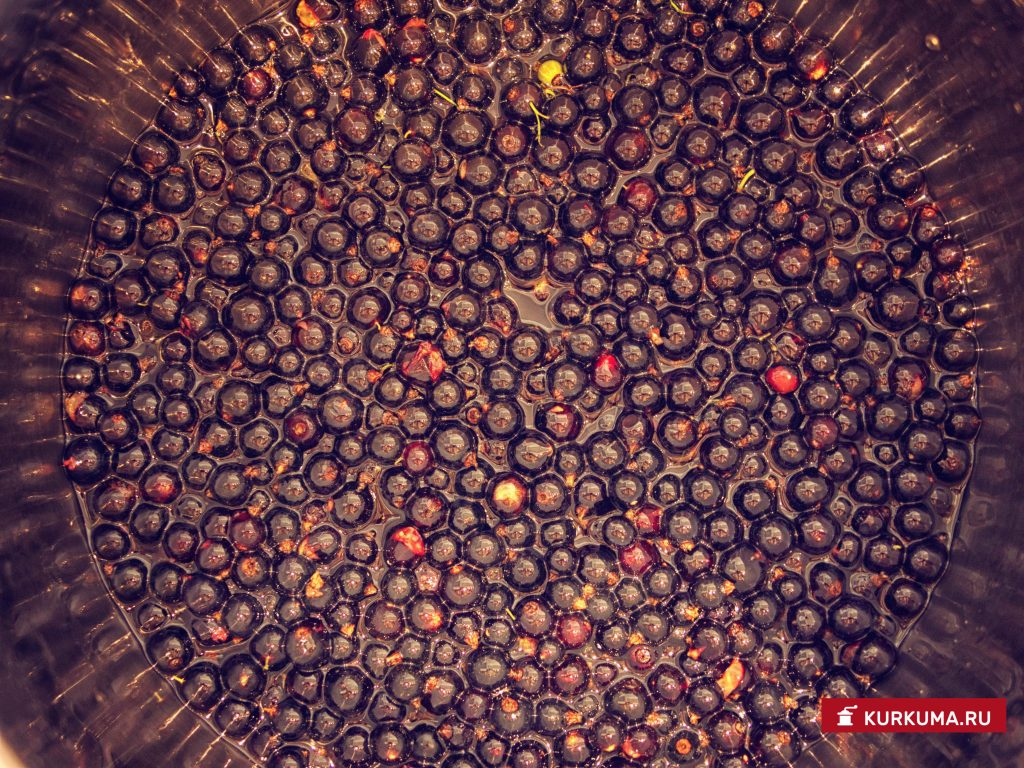 Варенье из черной смородины - рецепт