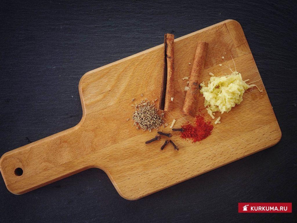 Сливовое чатни - ингредиенты