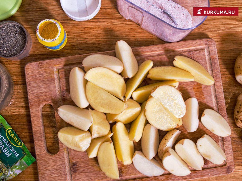 Картофель по-деревенски - ингредиенты