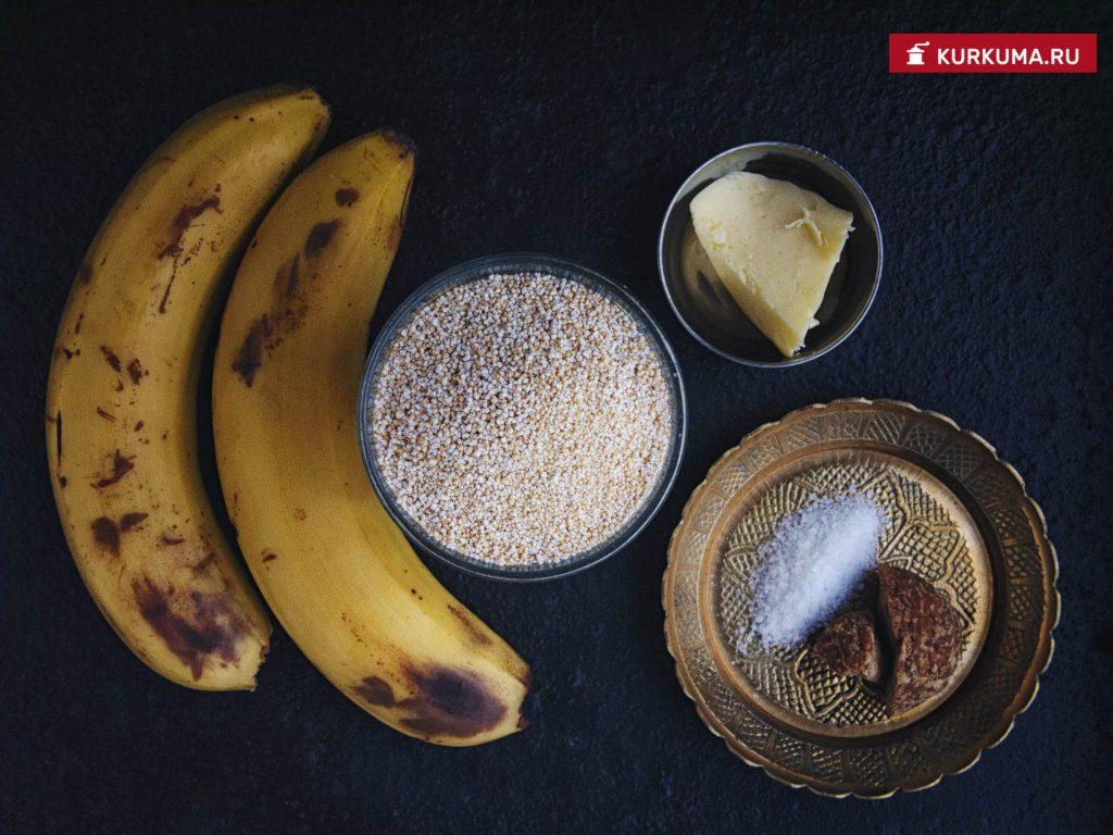 Амарантовая каша, ингредиенты