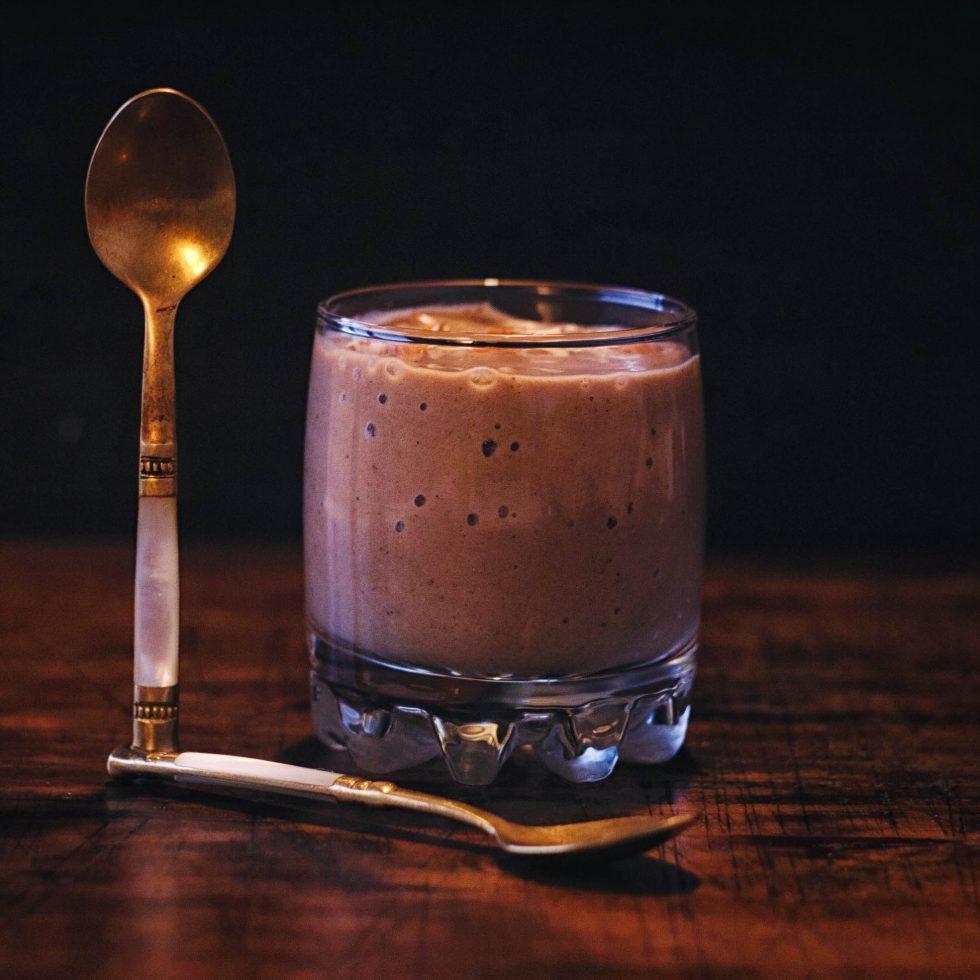 Кэробовый смузи - рецепт