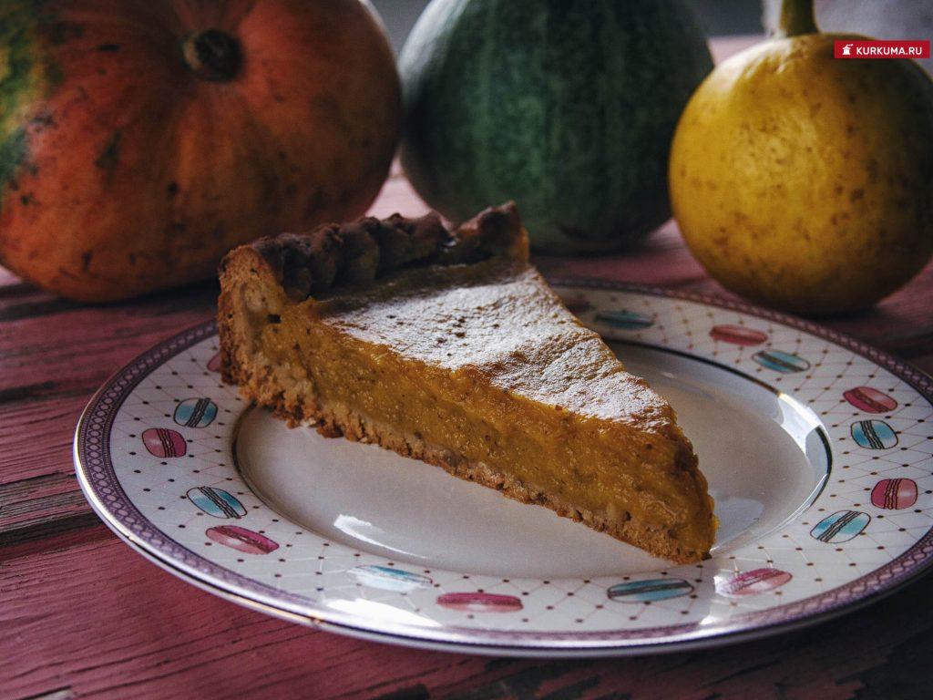 Тыквенный пирог веган