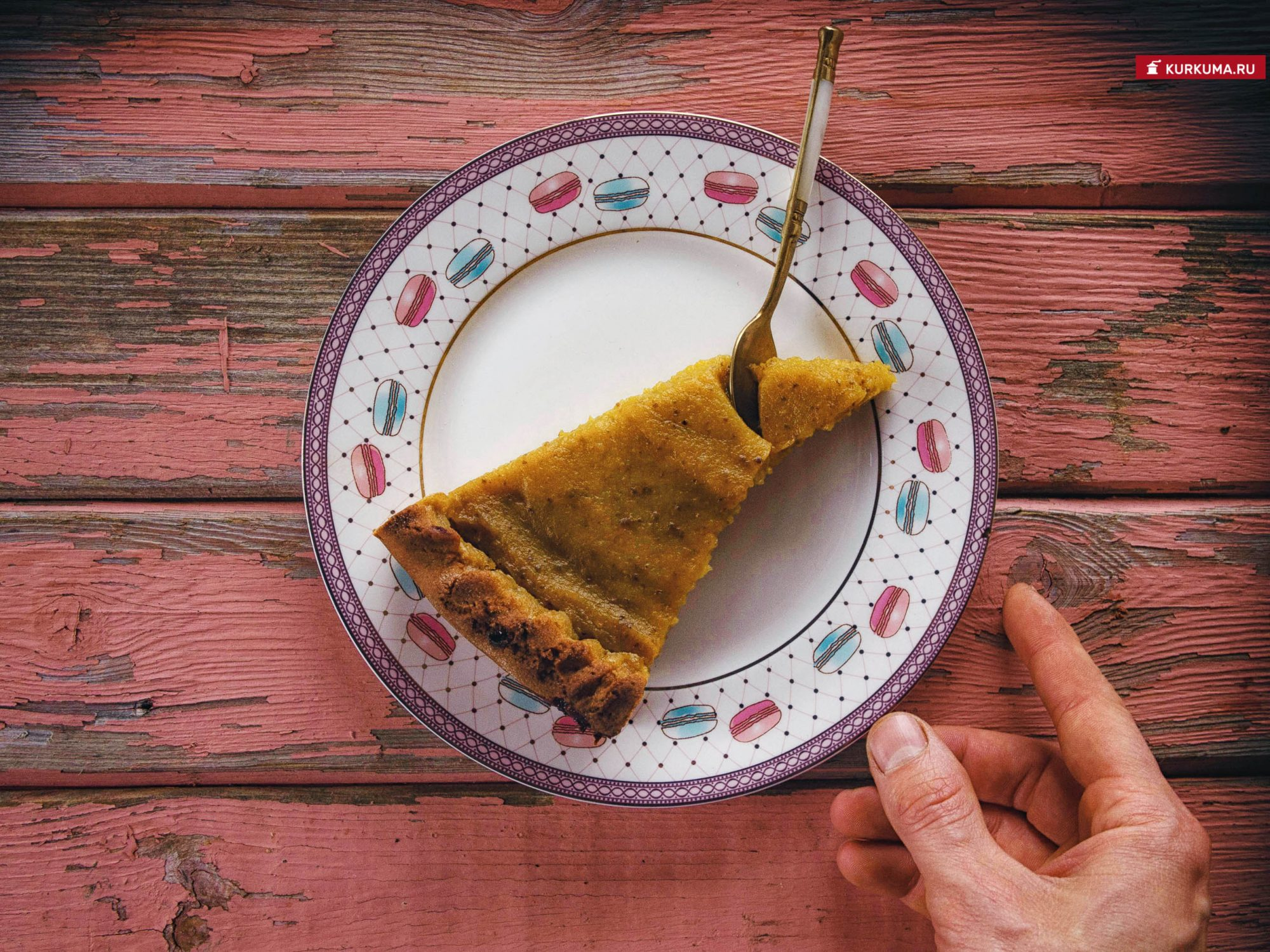 Тыквенный пирог веган - рецепт