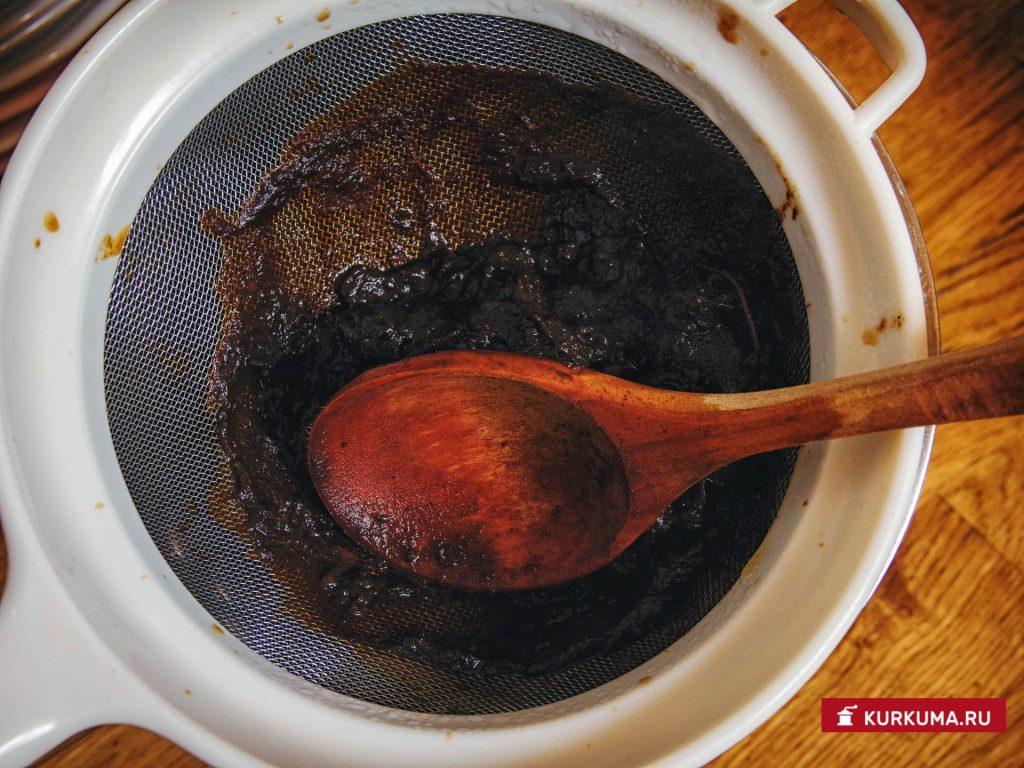 Кисло-сладкий соус из фиников и тамаринда