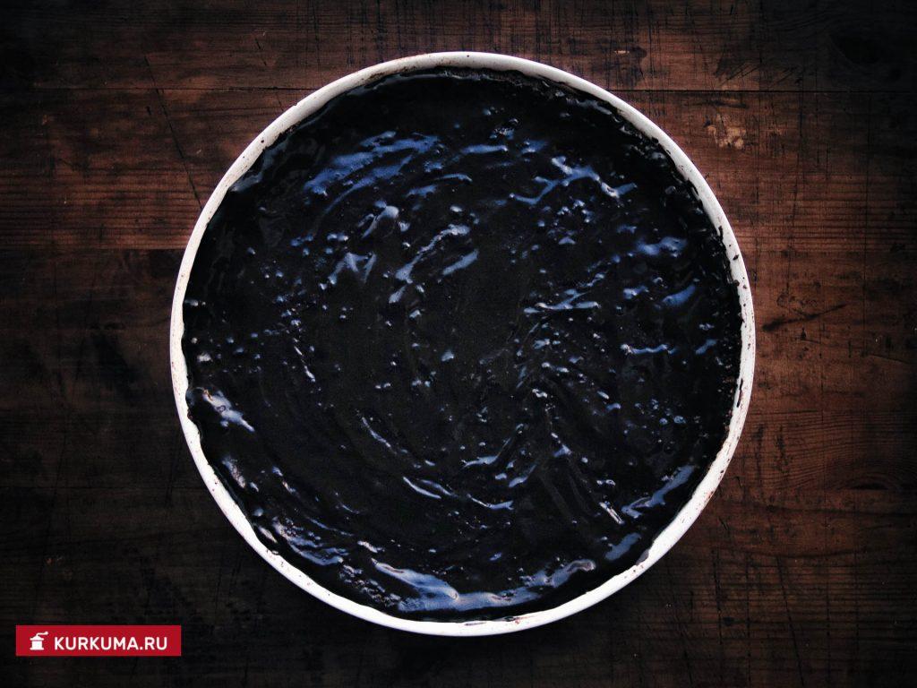 Творожная запеканка с шоколадной глазурью
