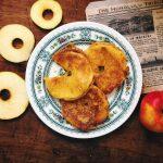 Яблоки в кляре (яблочные кольца)
