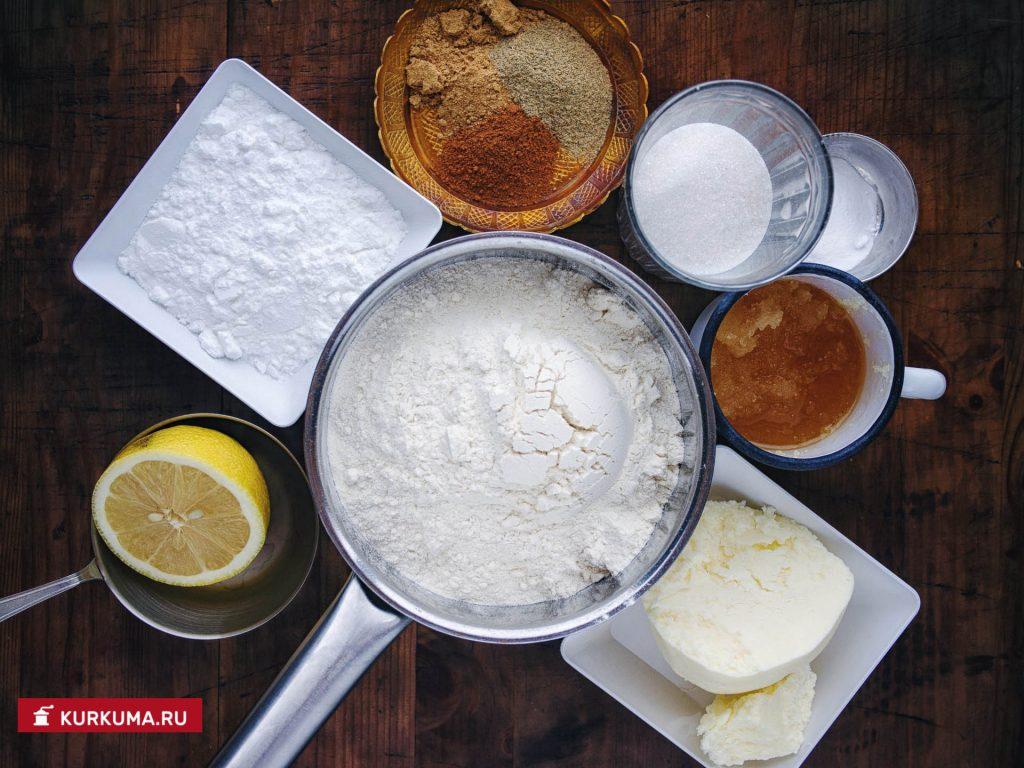 Имбирное печенье рецепт с фото