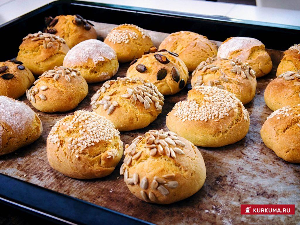 Булочки и пирожки - рецепт с фото
