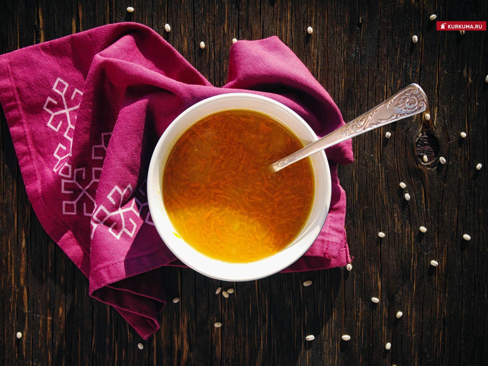 Суп горохово-перловый - рецепт с фото
