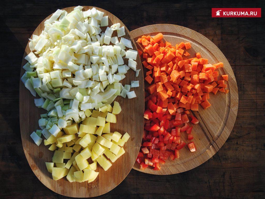 Овощной суп - рецепт с фото