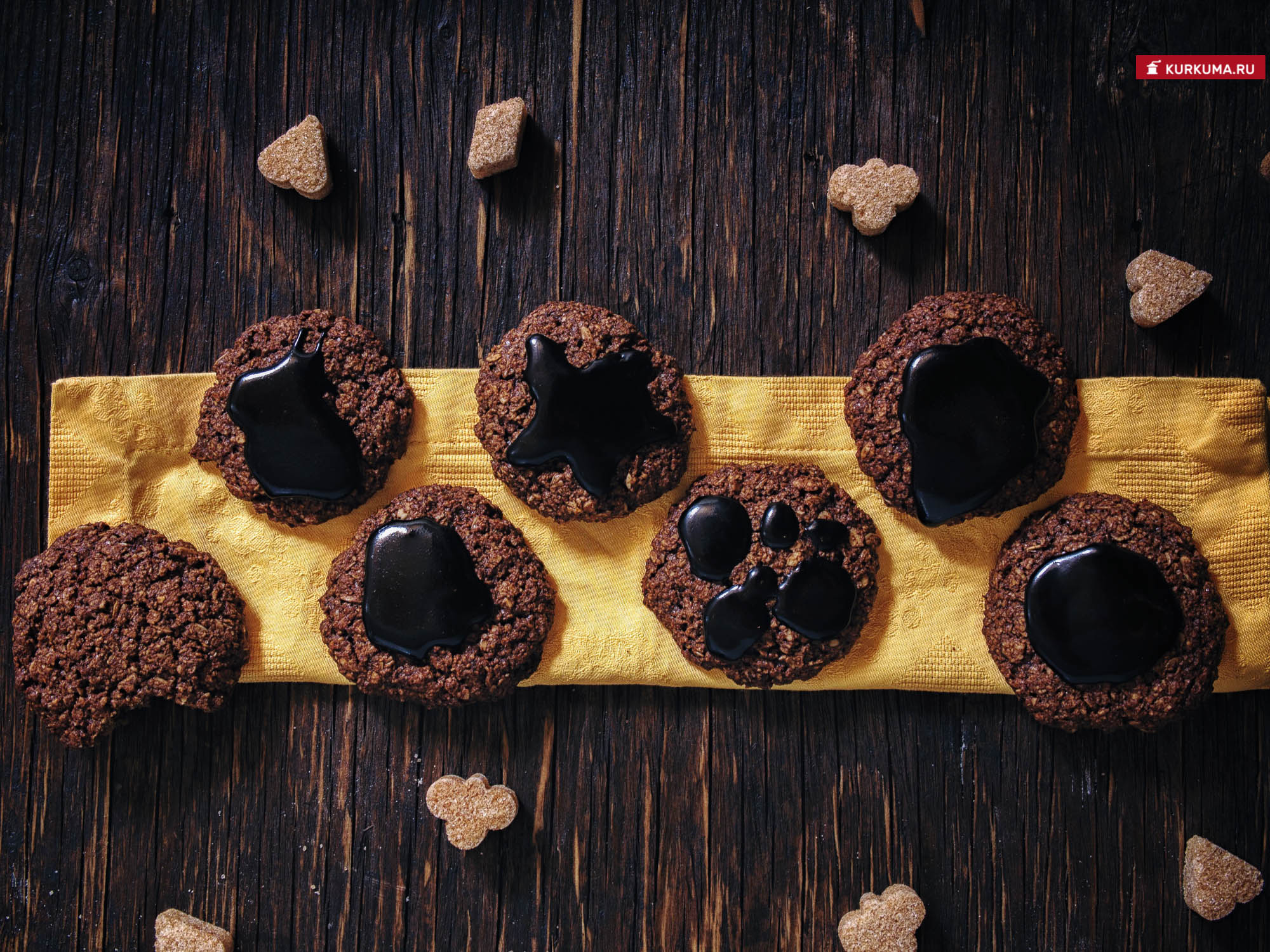 Рецепт овсяное печенье с кэробом - рецепт с фото