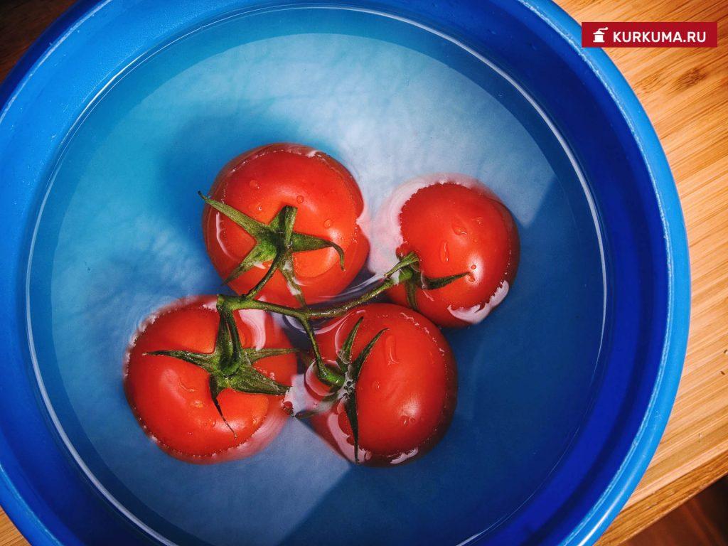 Вегетарианская яичница - рецепт с фото