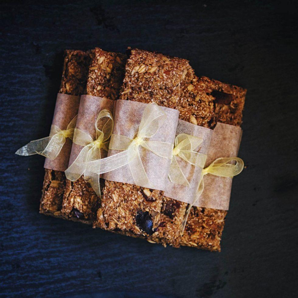 Овсяные батончики с амарантом - пошаговый рецепт с фото