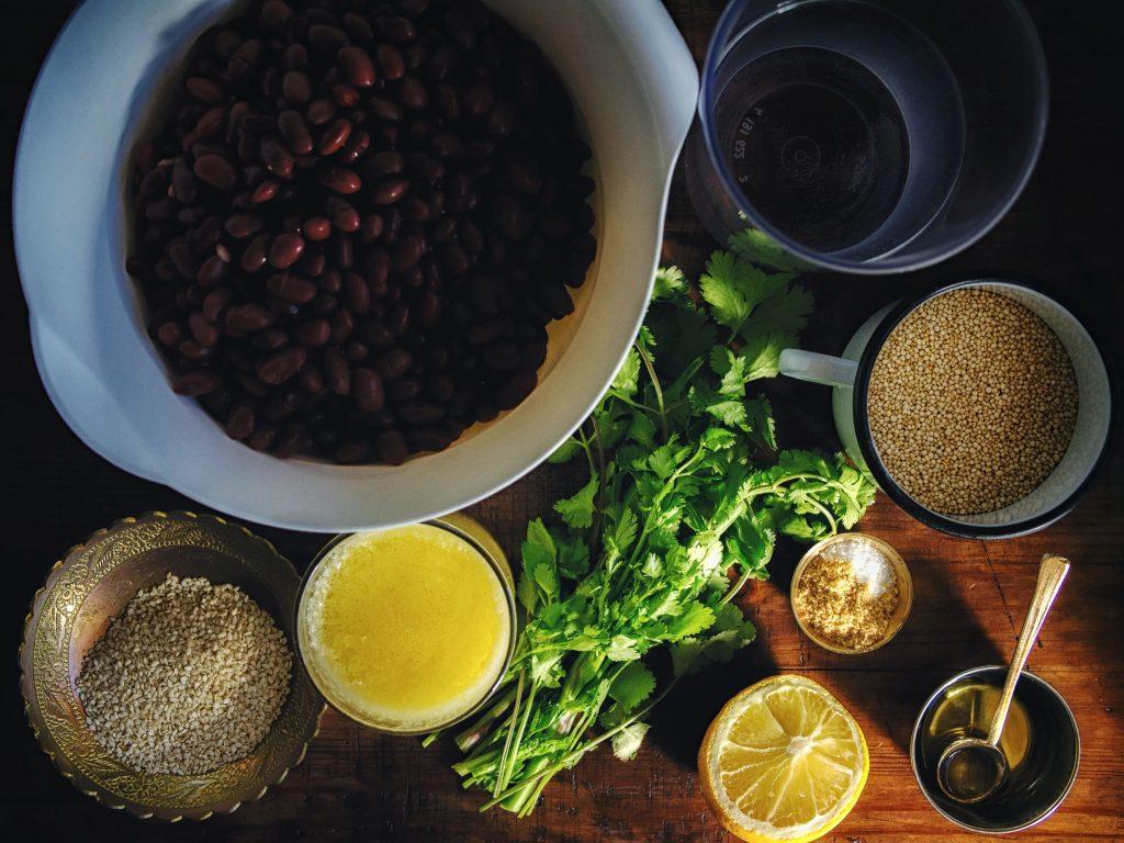 Вегетарианский бургер - рецепт с фото