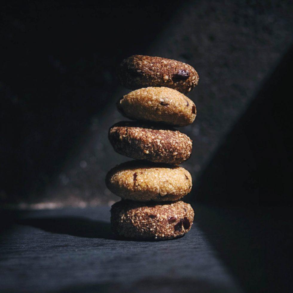 Шоколадное печенье без выпечки - рецепт с фото