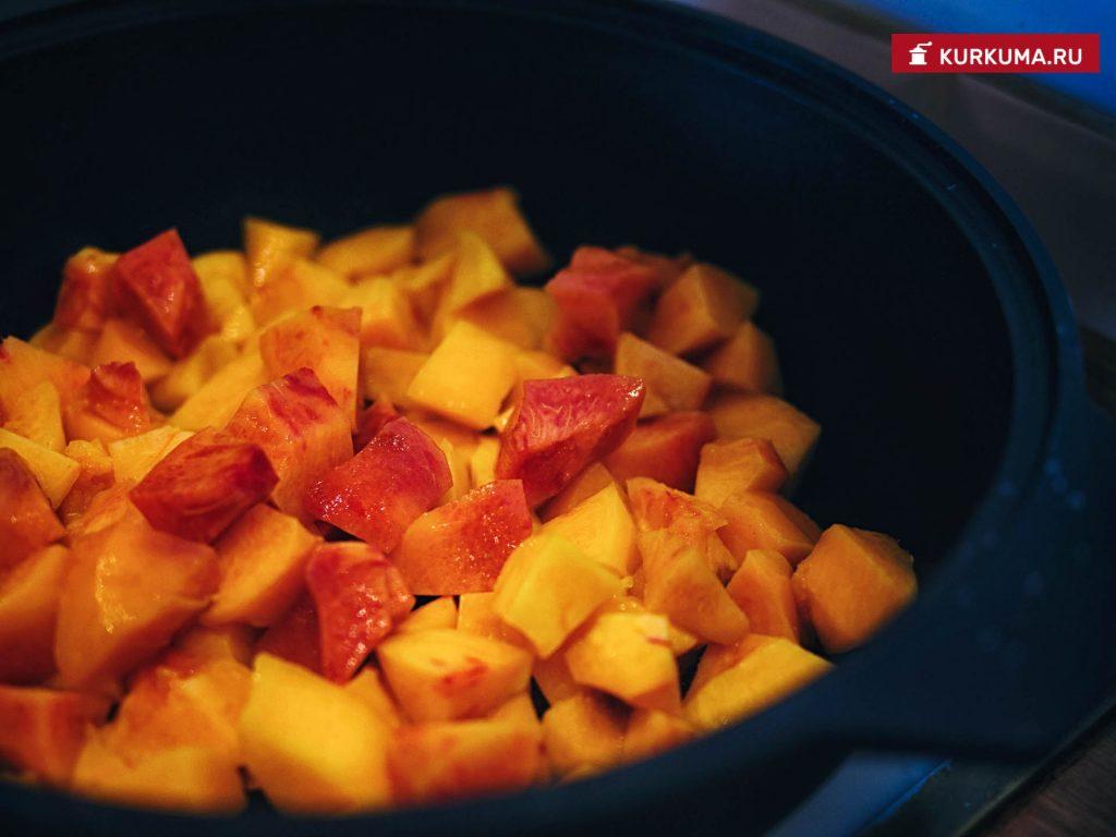 Персиковый десерт - рецепт с фото