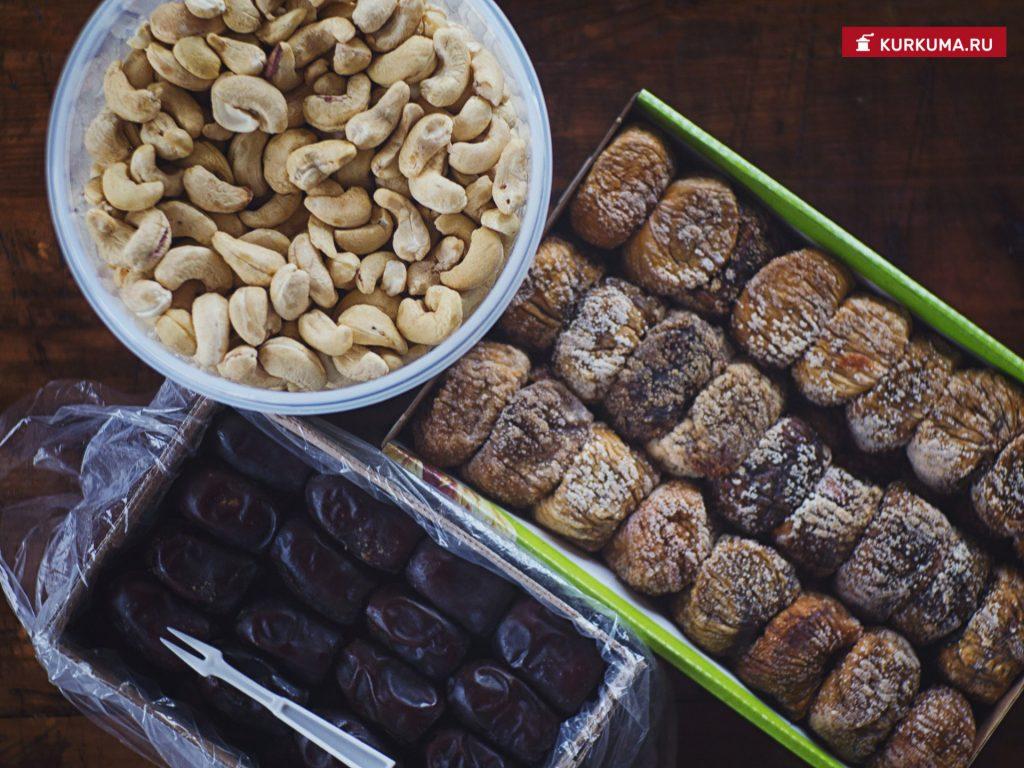 """Ингредиенты полезных конфет """"Коровка"""""""