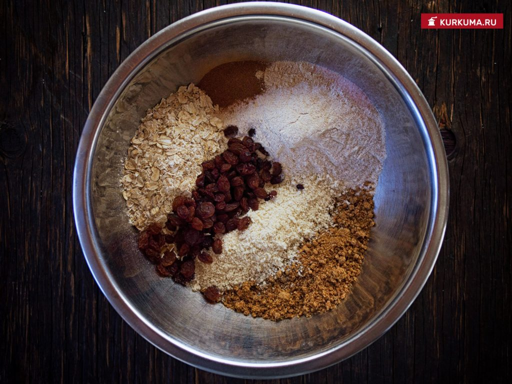 Воздушное печенье - вегетарианский рецепт