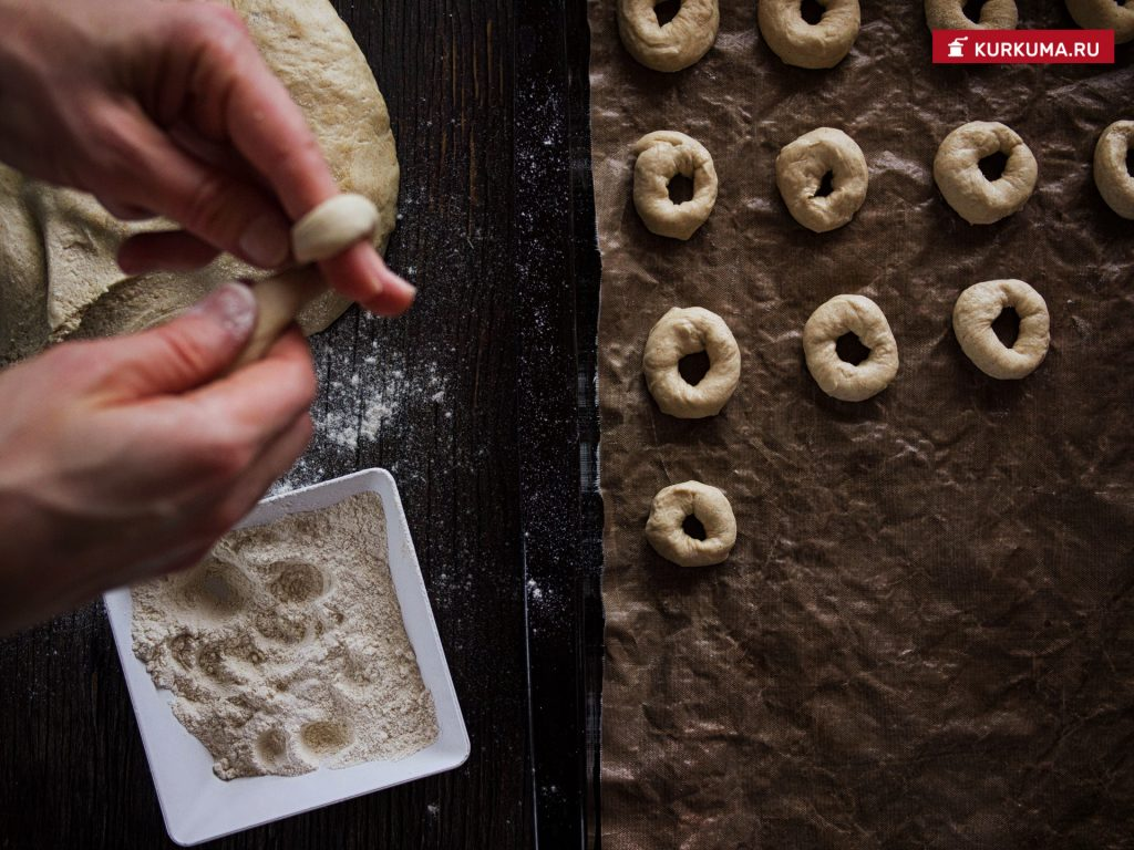 Рецепт домашних сушек без дрожжей, пошаговый рецепт с фото