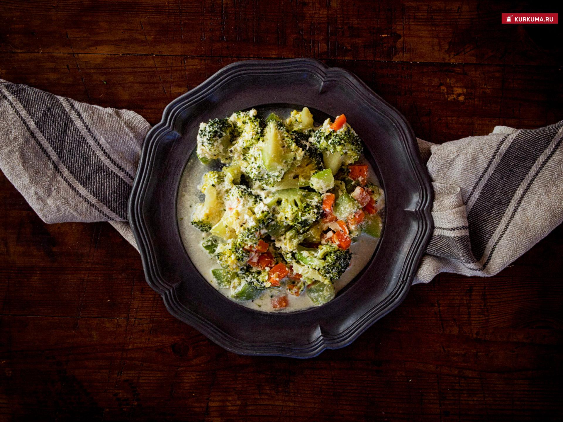 Рецепт - сливочное сабжи