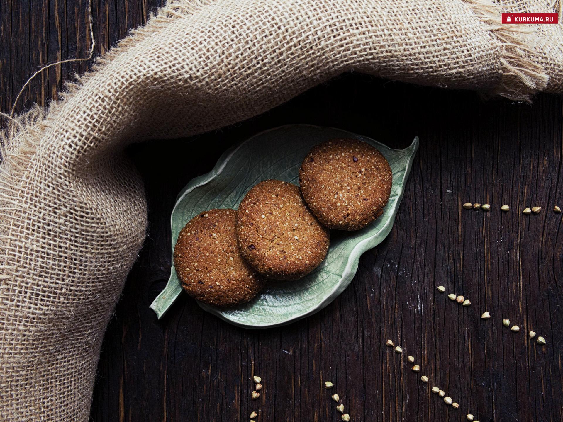 Рецепт печенья из зеленой гречки - пошаговый рецепт с фото
