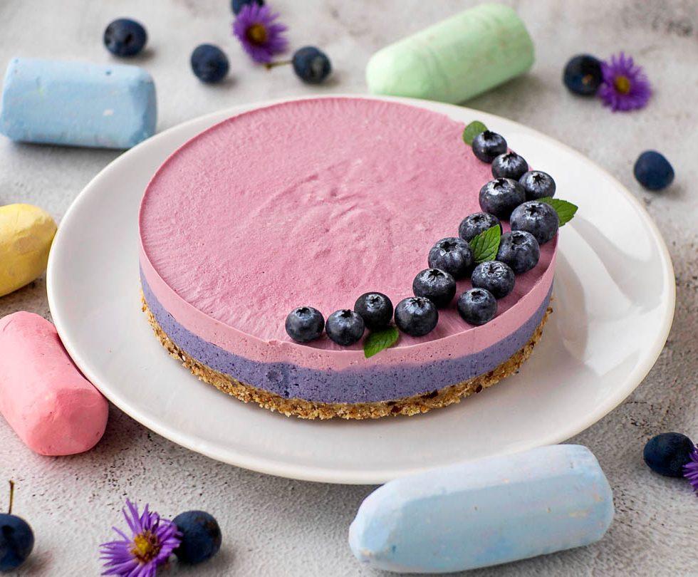Рецепт raw десерт - кешью кейк фрешкейк ягодный