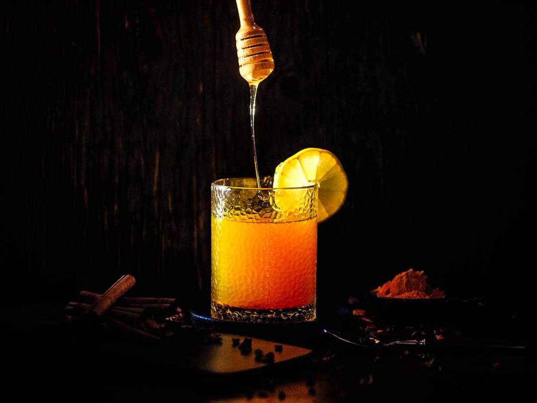 рецепт. Напиток от боли в горле для иммунитета