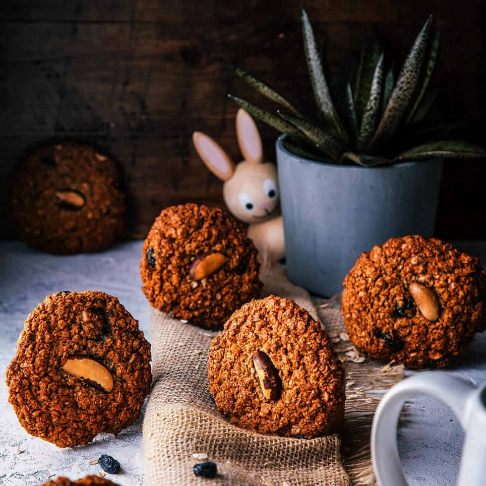 Рецепт: Хрустящие овсяные печеньки