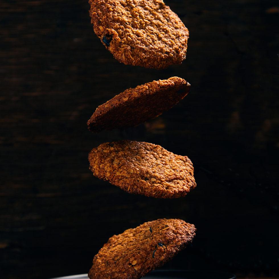 Овсяное печенье веган