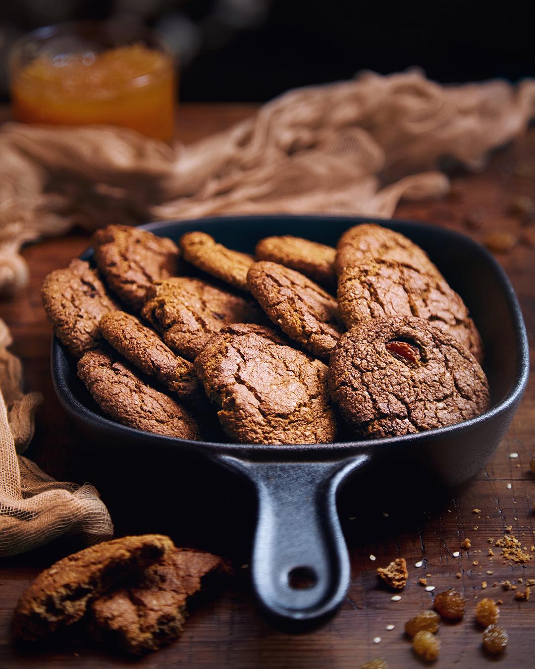 шоколадное овсяное печенье рецепт